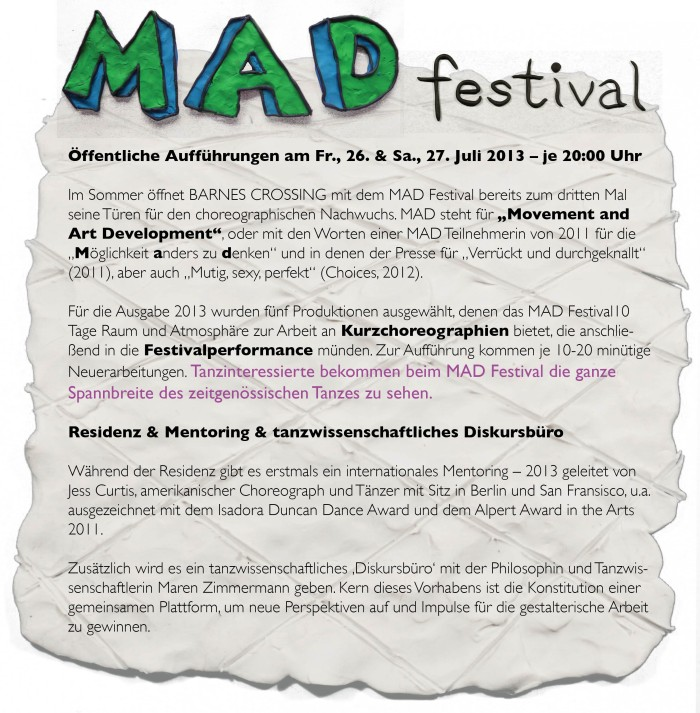 MAD Festival 2013